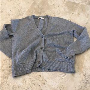 Loft cardigan/cropped/knit